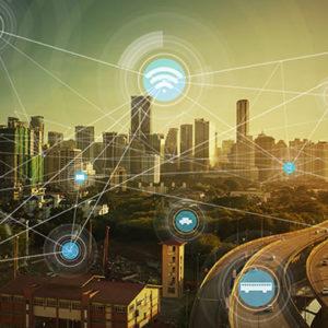 futuristic city concept art