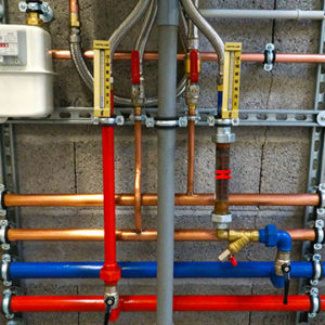 home pipes installation