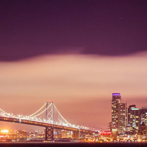 san francisco night view
