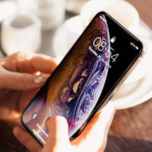 using new smartphone