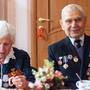 veterans couple